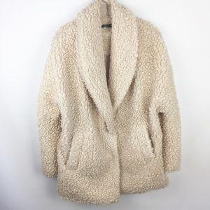 Matty M Faux Shearling Jacket